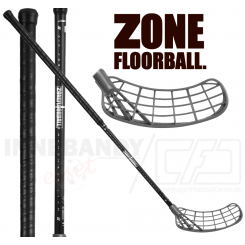 Zone Maker Air Superlight 26 black/silver (PC) - Floorballstav