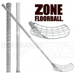 Zone Zuper Air Curve 1.0° 28 silver - Floorballstav