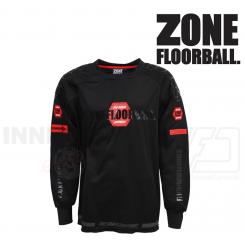 Zone Målmandstrøje Pro - black/red