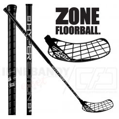 Zone Hyper Composite 27 black - Floorballstav
