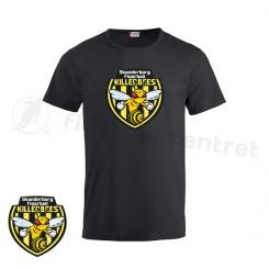 Offcourt T-shirt - Skanderborg Killerbees - Fashion-T sort