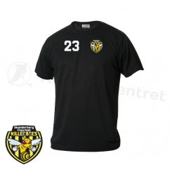 Trænings T-shirt - Skanderborg Killerbees - ICE-T sort