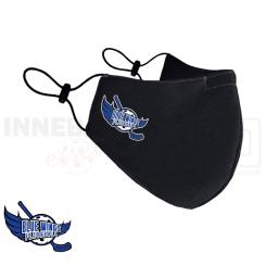Stofmundbind - Mundbind med klublogo - Blue Wings Floorball