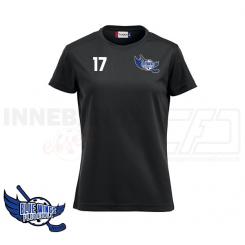 Trænings T-shirt - Blue Wings Floorball - ICE-T Ladies sort