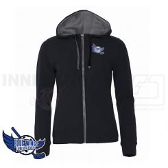 Hættetrøje Dame - Blue Wings Floorball - Classic Hoodie Fullzip