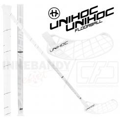 Unihoc Unity Curve 3.0° STL 26 white/silver - Floorballstav