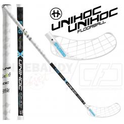 Unihoc Replayer TeXtreme Curve 2.0º 26 white/blue - Floorballstav