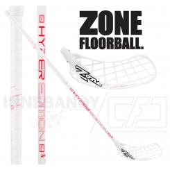 Zone Hyper Composite 29 white/red - Floorballstav
