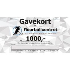 Gavekort 1.000,-