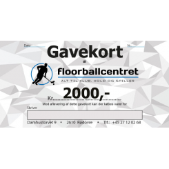 Gavekort 2.000,-