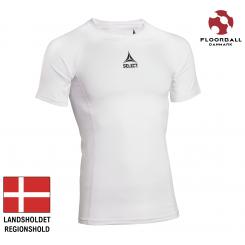 Baselayer Shirt S/S, hvid - Landshold Regionshold