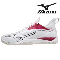 Mizuno Wave Mirage 4 Dame white/cherryred