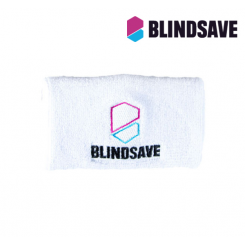 Blindsave Wristband with Rebound Control - white