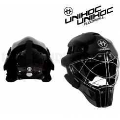 Unihoc Optima 66 Målmandshjelm all black