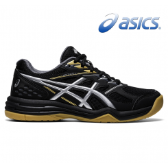 Asics Upcourt 4 - Junior - black/silver/gold