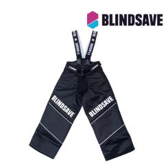 Bindsave Kids Goalie Pants With Built In Knee Pads - black