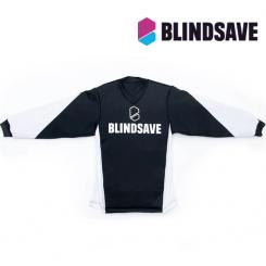 Blindsave Kids Padded Goalie Jersey - black