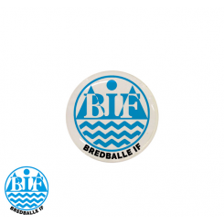 End cap med logo - Bredballe IF