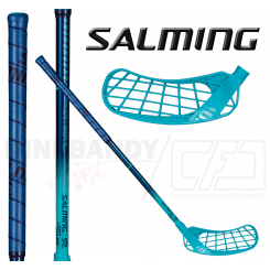 Salming Q2 Mid 35 (72 cm) blue/cyan blue