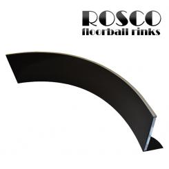 Rosco Floorball Bande Stykker - ACTIVE - 1,5 meter hjørne bandestykke, sort