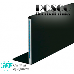 Rosco Floorball Bander - ACTIVE HEAVY - Fullsize bane 20x40 meter, sort - IFF Godkendte