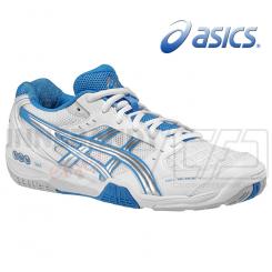Asics Gel Blade 4 - Dame - hvid/blå