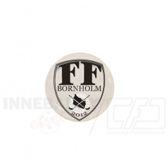 End cap med logo - FF Bornholm
