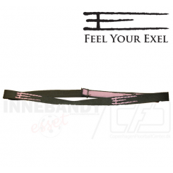 Exel Headband E army green / pink