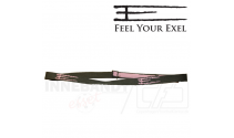 Exel Headband E army green / pink