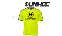 Unihoc Dominate Spilletrøje Neon Gul