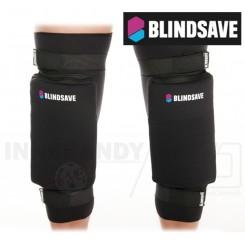 Blindsave Knæbeskyttere (Hard Padding) - black
