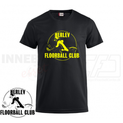 Funktionel t-shirt - Herlev Floorball - ICE-T
