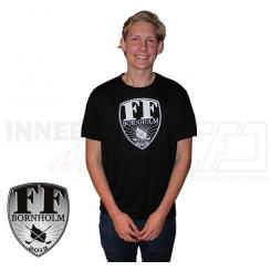 Tshirt - FF Bornholm - Sort