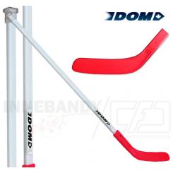 DOM Cup stav, 120 cm totallængde - Rød