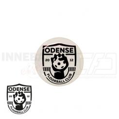 End cap med logo - Odense Floorball Club