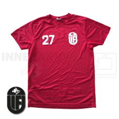 T-shirt - Uvelse Floorball - Rød - ICE-T