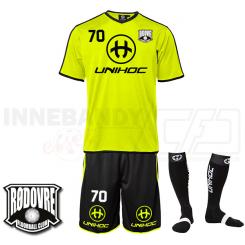 Træningssæt - Rødovre FC - Dominate neongul