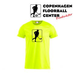 CFC T-shirt - Logo - Neon Gul