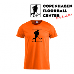 CFC T-shirt - Logo - Neon Orange