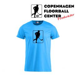 CFC T-shirt - Logo - Neon Blå