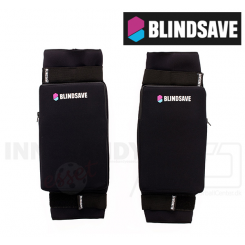 Blindsave Knæbeskyttere For Børn (Soft Padding) - black