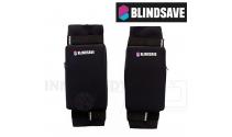 Blindsave Knæbeskyttere For Børn (Soft Padding) - black