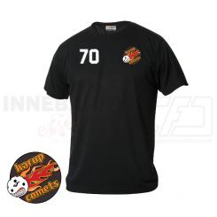Trænings T-shirt - Karup Comets - ICE-T Sort
