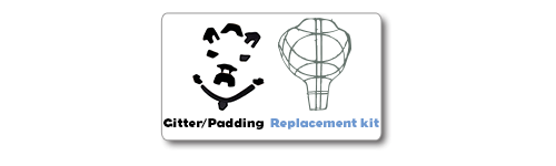 Gitter/Padding/Replacement kit