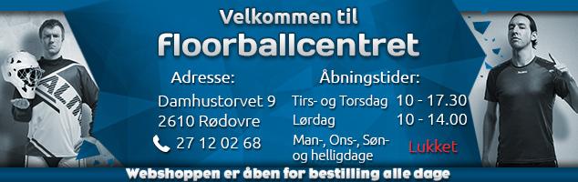 Velkommen til Floorballcentret 2021 - nye åbningstider